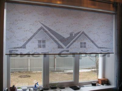 Классическая рулонная штора