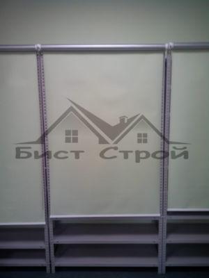 Рулонные шторы на стеллажи