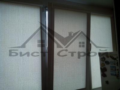 Рулонные шторы с тканью Арти