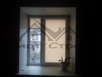 Рулонные шторы Тэфи на окне