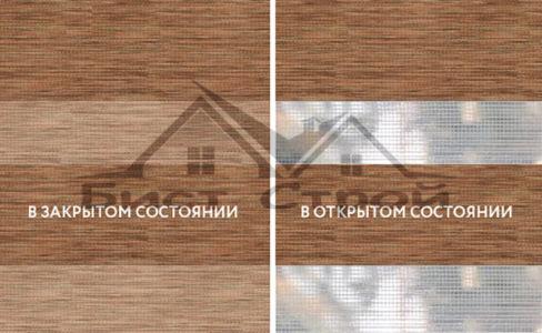 ЗЕБРА Savana коричневый