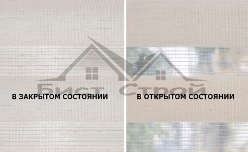 ЗЕБРА Linen 01 кремовый