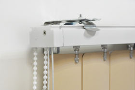 Вертикальные жалюзи V-FORM PLAST крепление на стену