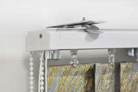 Вертикальные жалюзи V-FORM крепление на стену