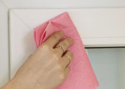 INTEGRA BOX обезжирить поверхность окна