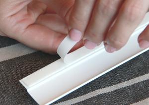 INTEGRA BOX снять защитный слой скотча