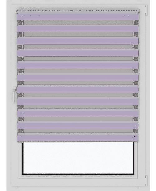 Рулонные шторы день-ночь зебра