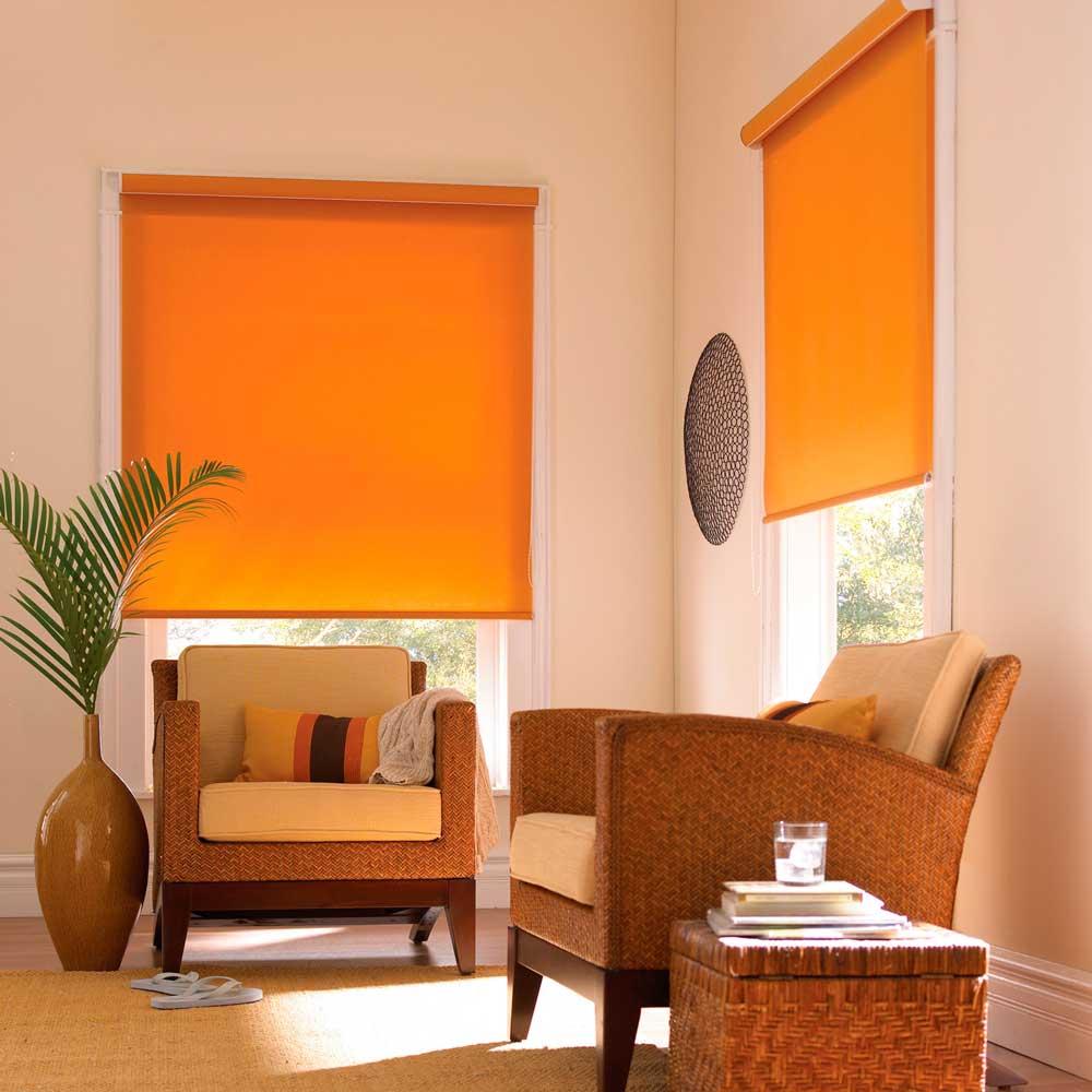 жалюзи и шторы с солнечной стороны